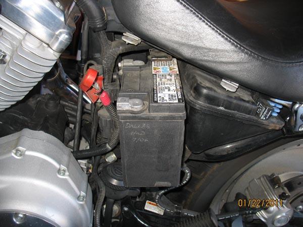 Changer Batterie Harley Davidson Sportster